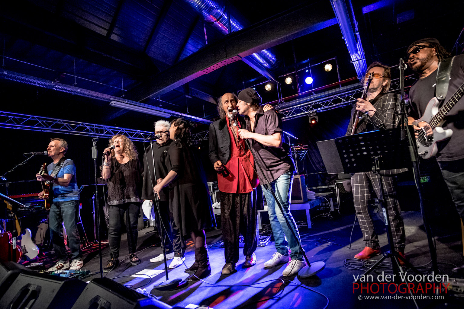 2015 The Clem Clempson Band & Friends @ Musiktheater REX Benshe
