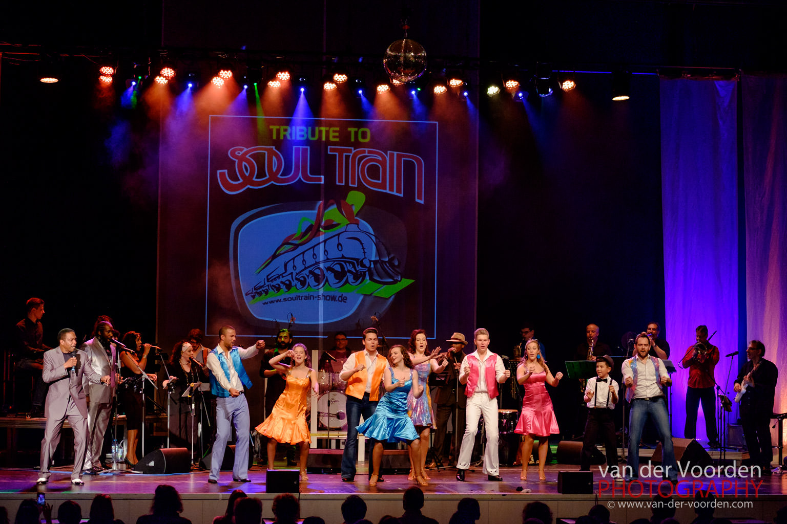 2015 A Tribute to Soul Train @ Palatin Wiesloch