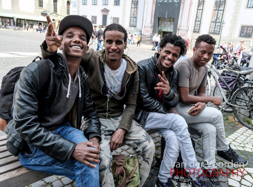 Afrikanische Jungs