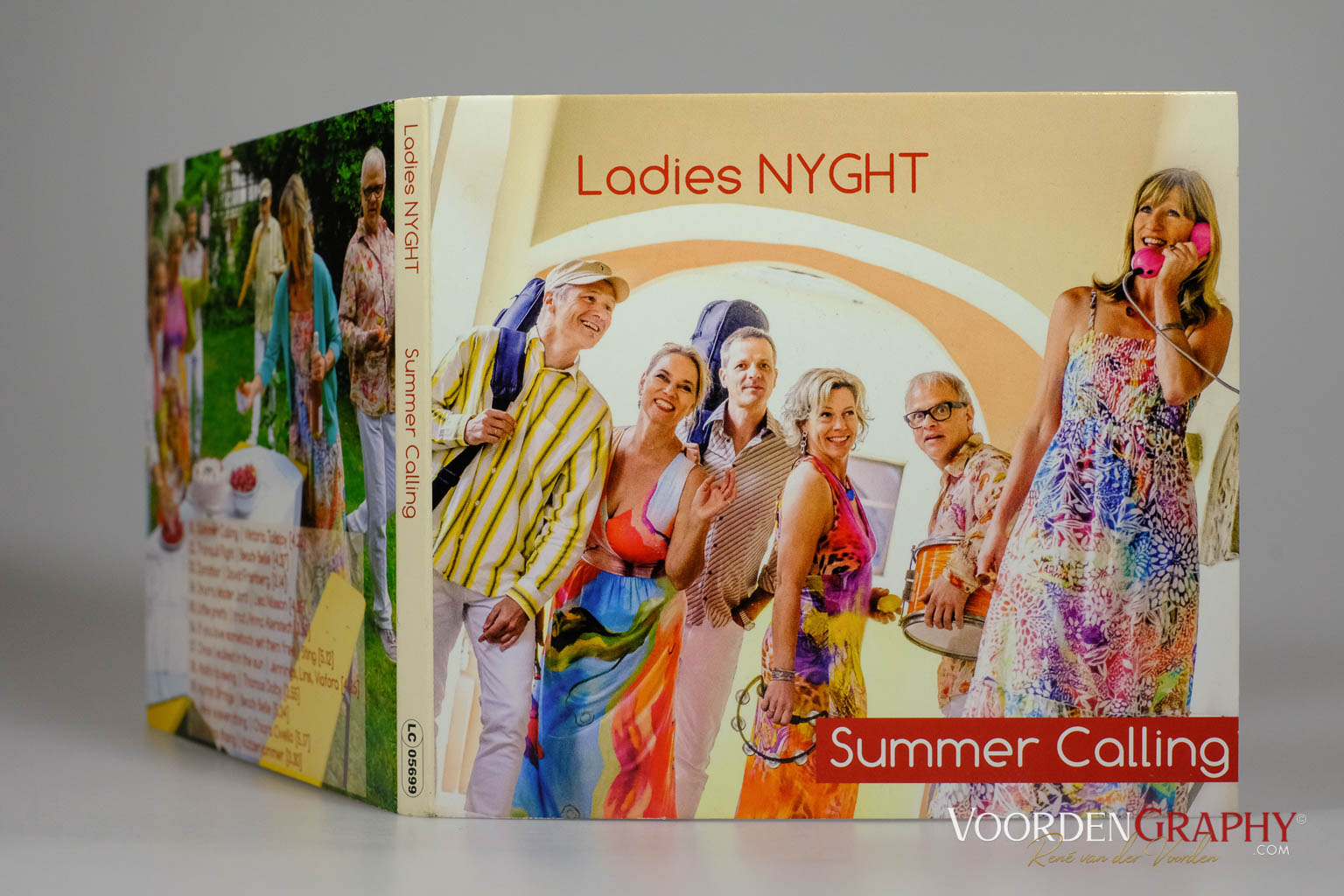 "2016 Cover-Shooting für Ladies NYGHT ""Summer Calling"" CD"