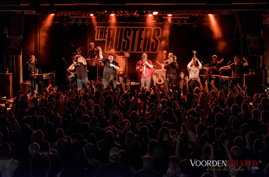2018 The Busters @ Substage Kalrsruhe