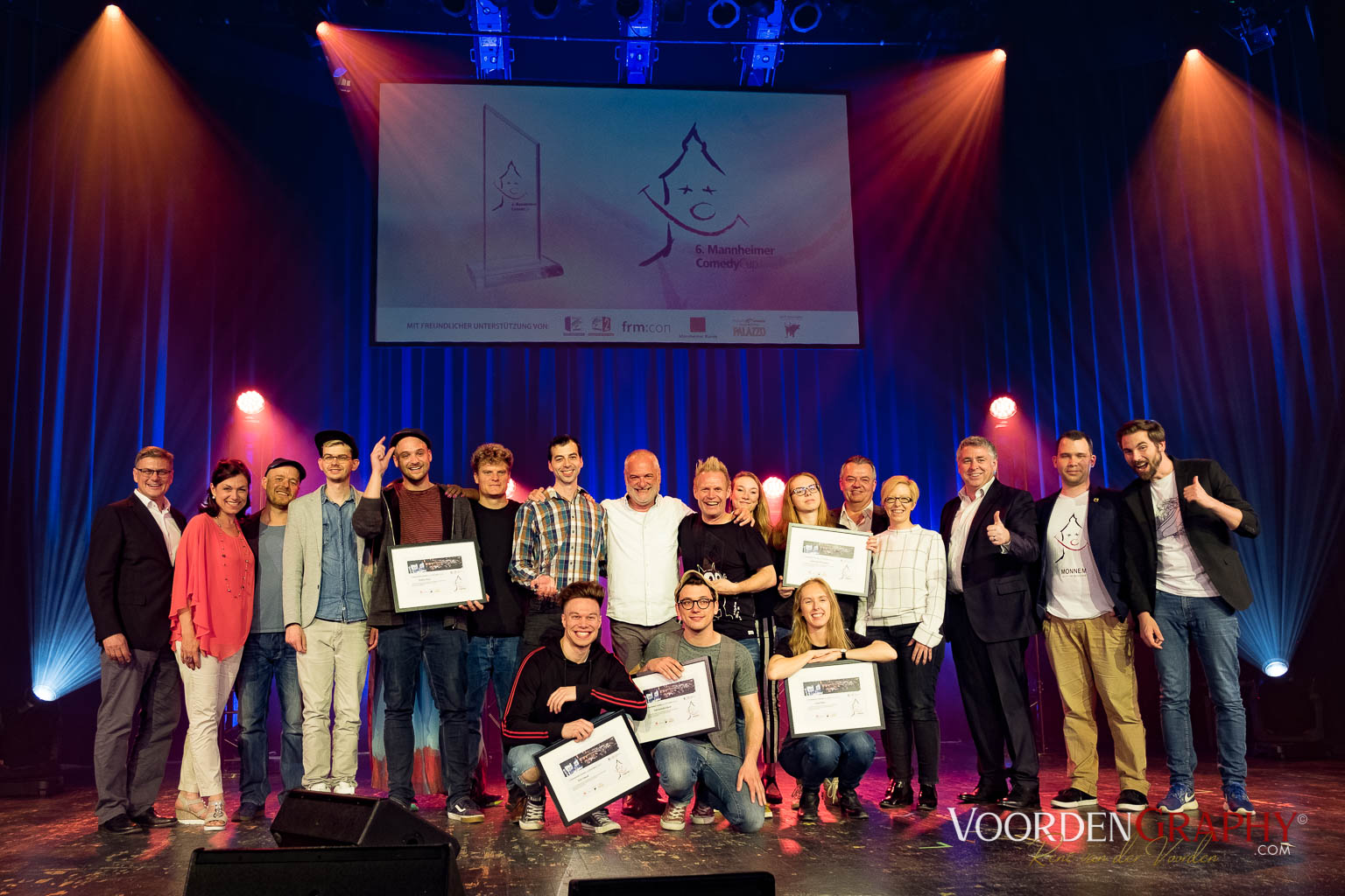 2018 6. Mannheimer Comedy Cup @ Capitol Mannheim