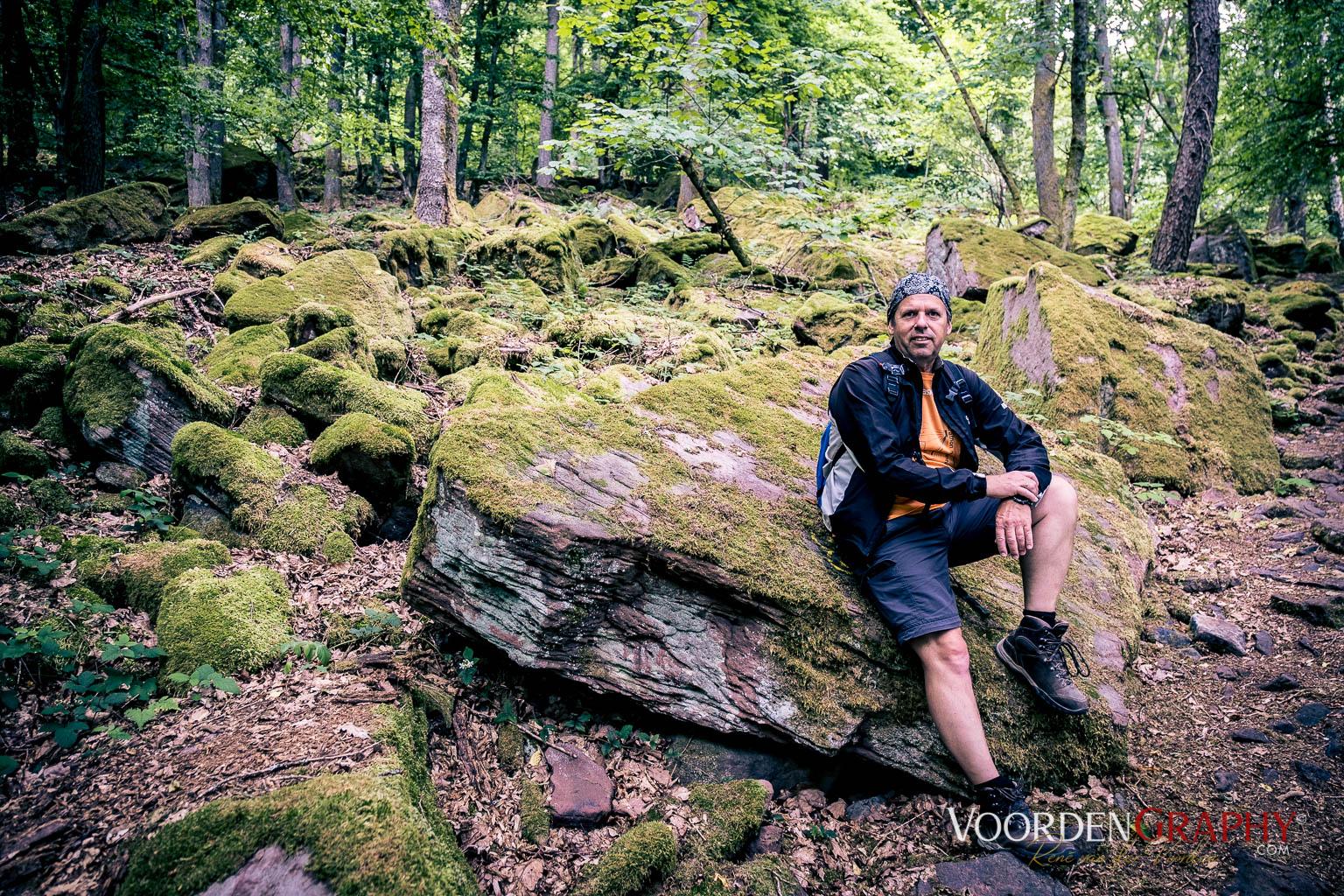 Fotograf am Urwaldpfad
