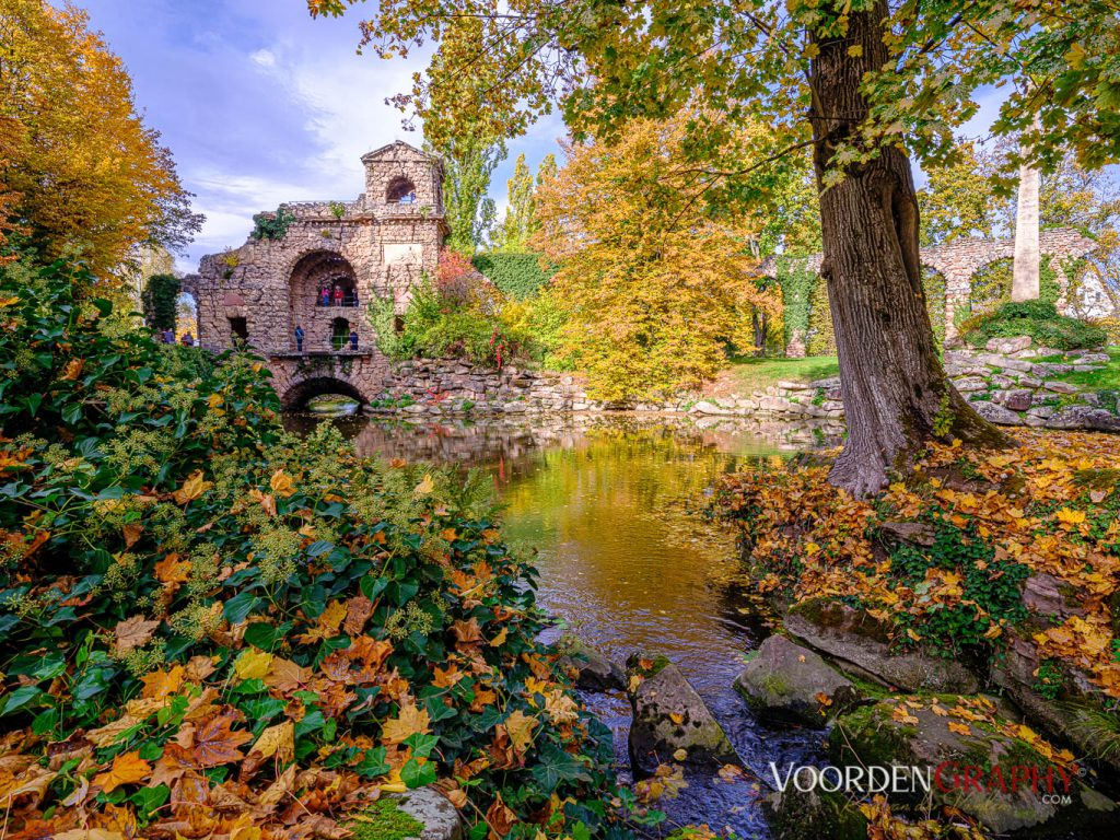 2020 Herbst-Impressionen @ Schlossgarten Schwetzingen